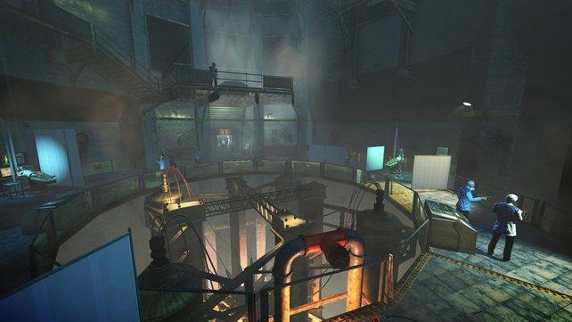 Die letzte Station in dieser schrecklichen Fabrik.