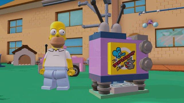 Auch als Level erhältlich: Die Simpsons