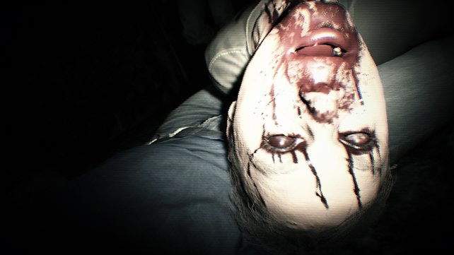 Logiklücken in Horror-Games. Im Bild: Resident Evil 7.