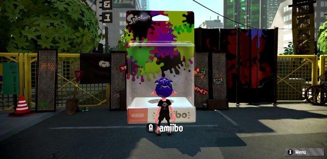 An dieser Box könnt ihr eure Amiibo-Figuren einscannen.