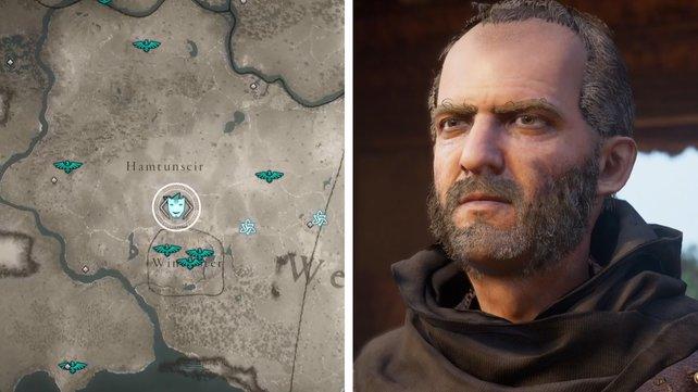 Die Karte euch zeigt den Standort von Fenn.