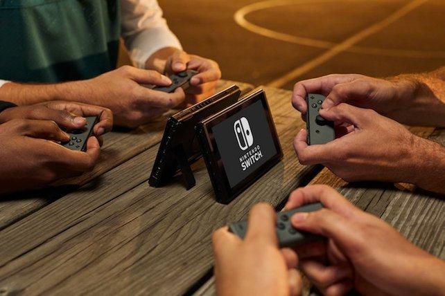 Ihr könnt mit der Nintendo Switch im Multiplayer mit bis zu 8 Personen spielen.