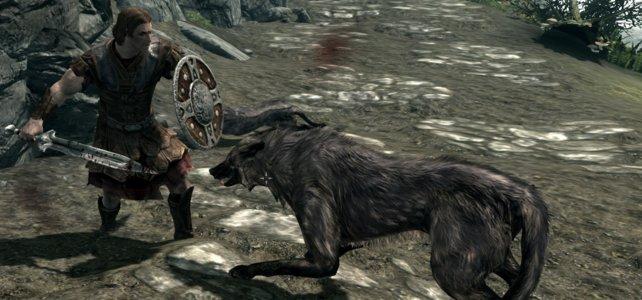 Artenschutz? Auf's Maul! Wölfe können guten Loot dabei haben.
