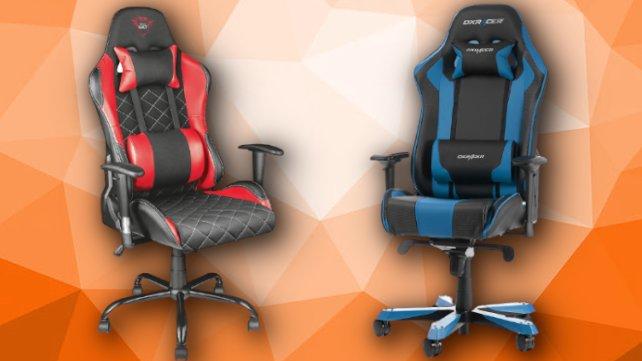 Gaming-Stühle gibt's zum Black Friday stark reduziert.