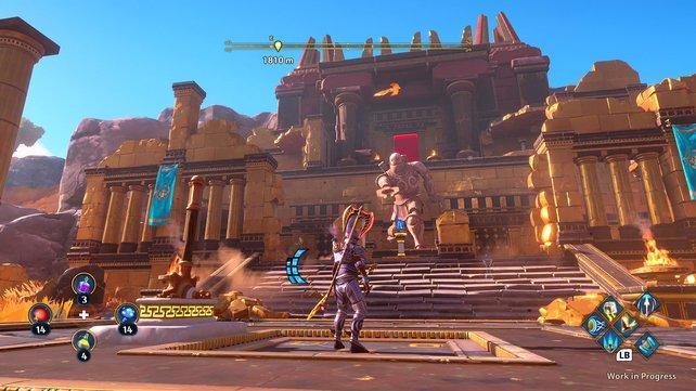 Die offene Spielwelt ist in der griechischen Götterwelt angesiedelt und steckt voller Geheimnisse.