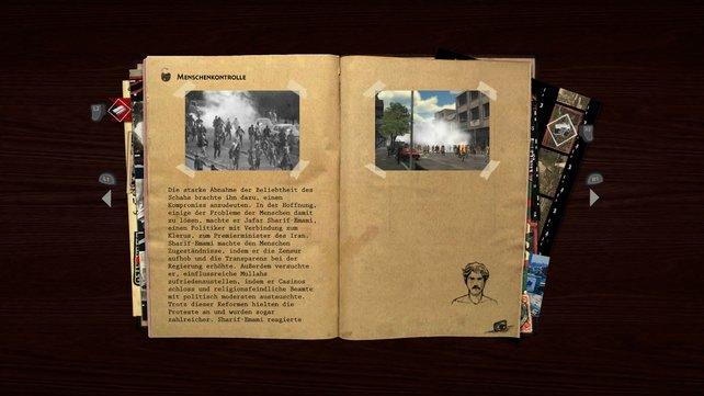 Macht ihr Fotos, eröffnen sich Hintergrundwissen und zeitgenössische Dokumente.