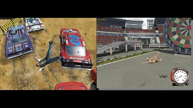 Aus menschlichen Fahrern wurden Crash-Dummies.