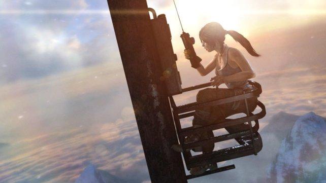 Lara hat in dieser Version die Haare schön.