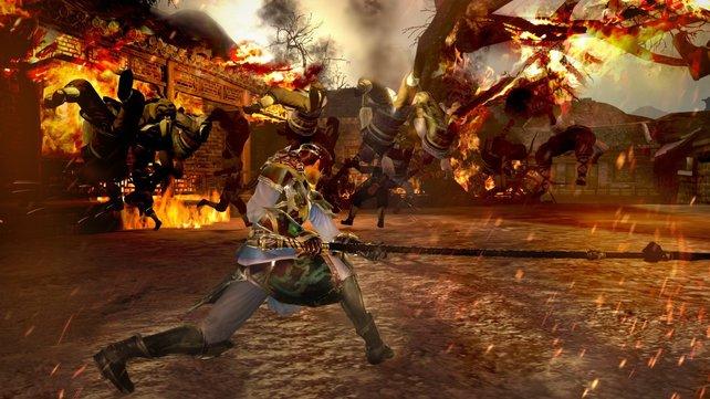 Dynasty Warriors 8: Die kleinen Kämpfe des Alltags einfach mal mit krachenden Kombos auf dem Bildschirm austragen. Kaum etwas eignet sich besser zum Stressabbau.