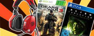 Deals: Schnäppchen des Tages: Alien - Isolation, Gears of War 3 und Mad-Catz-Headset im Angebot