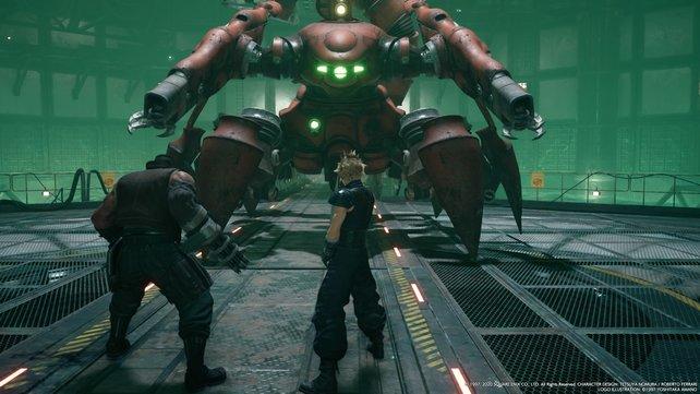 In der Demo des Remakes von Final Fantasy 7 könnt ihr die erste Mission spielen und einen Mako-Reaktor infiltrieren.