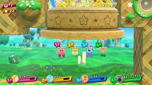 Manche mögen's halt leicht und kuschelig. Im Bild: Kirby Star Allies.