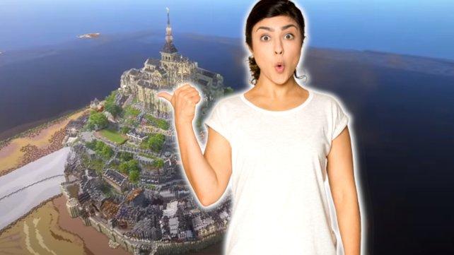 Ein einmaliges Minecraft-Projekt lässt Spieler einfach nur Staunen. Bild: YouTube/PippenFTS, Getty Images/fizkes.