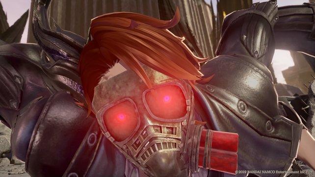 Das Gas Miasma beschleunigt den Blutdurst. Deshalb trägt euer Avatar fast immer eine Maske.