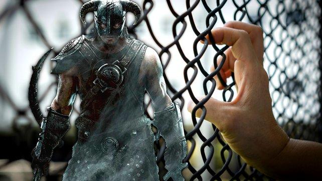 Ein Skyrim-Spieler findet einen Weg in Bethesdas private Folterkammer. Bild: Bethesda, Getty Images/Chinnapong.