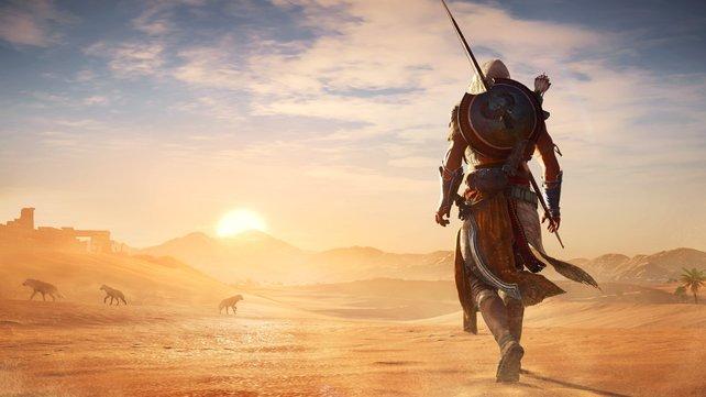 Die Deluxe Edition von Assassin's Creed: Origins jetzt für unter 20 Euro ergattern.