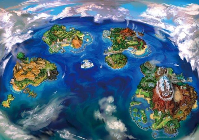 Pokémon Sonne und Mond: Wir versorgen euch mit Tipps für die wunderschöne Alola-Region.
