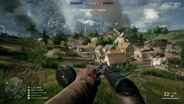 Große Schlachtfelder des Ersten Weltkrieges warten auf Online- und Kampagnen-Krieger.