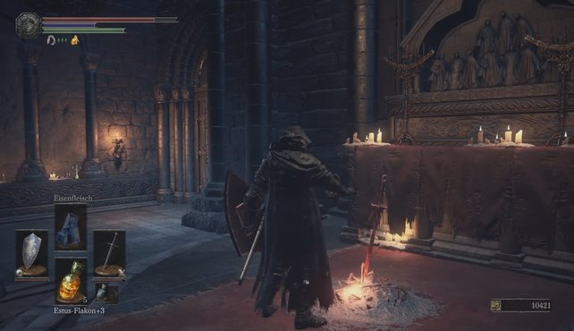 Glück auf: Das nächste Leuchtfeuer vor der Kathedrale des Abgrunds.