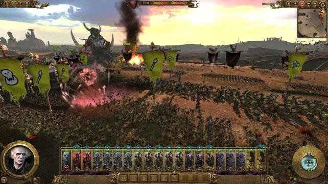 Die Echtzeitschlachten sind in Total War - Warhammer interessanter als zuvor. Denn endlich spielen sich die Heere tatsächlich unterschiedlich.
