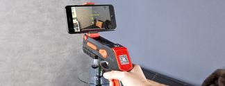 Panorama: Kurioses Gadget: Eine AR-Pistole für Smartphones