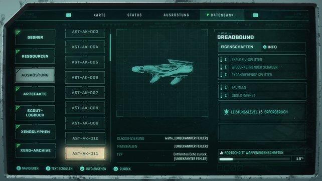 Dreadbound ist die beste Waffe auf kurze Distanz.