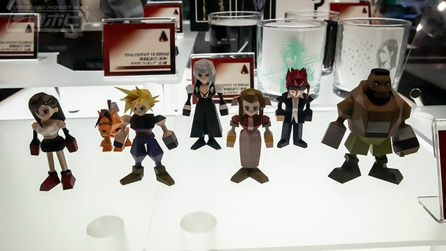 """Die """"Final Fantasy 7""""-Figuren könnt ihr jetzt vorbestellen."""