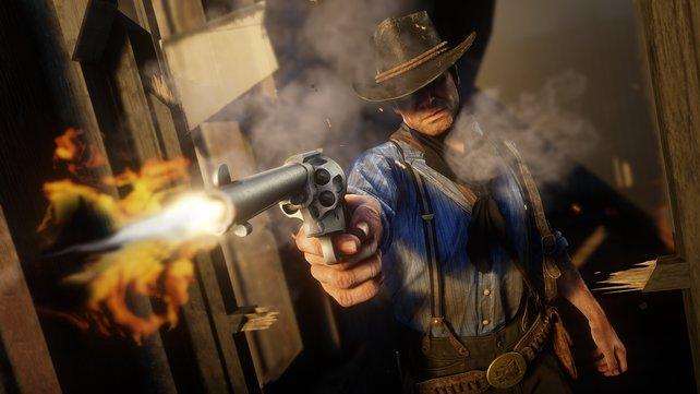 RDR2: Der Wilde Westen ist hart, sowohl im Singleplayer als auch im Multiplayer.
