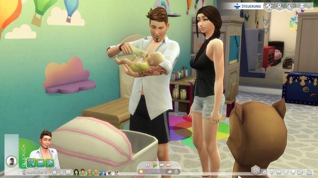 Ein Baby zu bekommen, kann so schön sein - vor allem wenn es ein braves Baby ist.