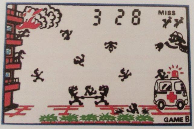 In dem Spiel Fire hat die zum Serienmaskottchen gewordene Figur Mr. Game & Watch ihren ersten Auftritt. Das Vorbild ist ein alberner Mitarbeiter Nintendos.