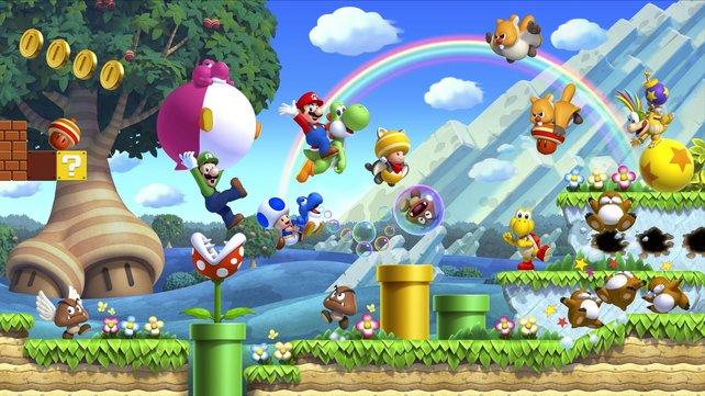 Egal ob jung oder alt: Die Spielereihe Super Mario zählt zu den erfolgreichsten weltweit.