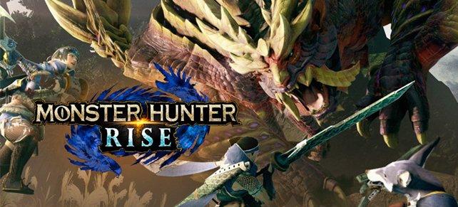 Monster Hunter Rise erscheint am 26. März 2021 vorerst exklusiv für Nintendo Switch.