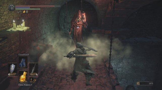 Lasst den Wärtern im Kerker von Irithyll keine Chance und schlagt sie schnell nieder.