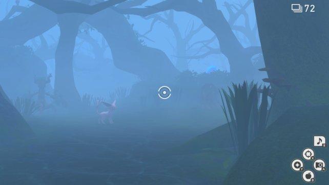 Psiana im Wandelwald von New Pokémon Snap.