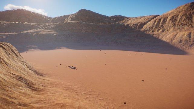 Das Biom Wüste besticht durch seine sandige und felsige Landschaft. Nur Tiere, die sich den schwierigen Verhältnissen angepasst haben, können hier überleben.