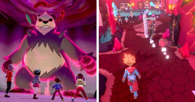 Beide Spiele verfügen über einen Multiplayer: In Pokémon ist er nur für bestimmte Inhalte verfügbar, in Temtem ist er Pflicht.