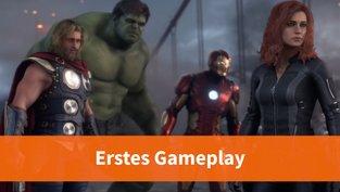 Erstes Gameplay-Material zum Marvel-Game