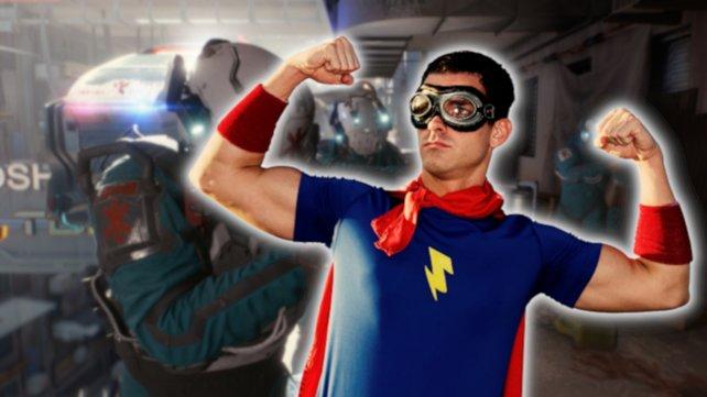 Die Polizei in Cyberpunk 2077 hat aufgerüstet. Jetzt haben sie sogar Superhelden. Bildquelle: Getty Images/ RichVintage
