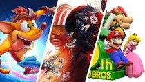 Star Wars, Super Mario, Crash Bandicoot und mehr