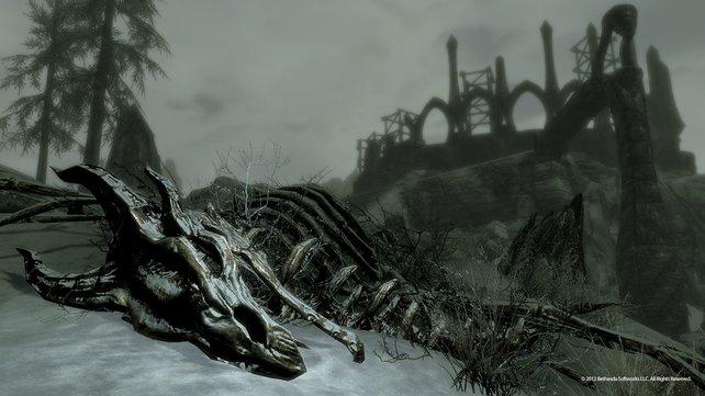 In Dragonborn trefft ihr auf Miraak, das erste Drachenblut.