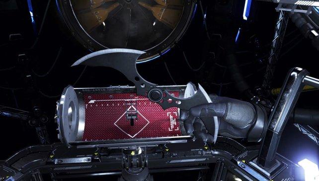Batman - Arkham VR: Dank präziser Move-Controller-Unterstützung ist die Interaktion mit Batarang und Co. ein Kinderspiel.
