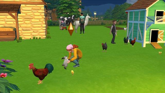 In der neuen Sims-Welt Henford on Bagley dreht sich alles um das Landleben und ihre menschlichen und tierischen Bewohner.