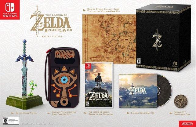 Tolle Extras für Fans: Die Master Edition ist die größte Version des Spiels.