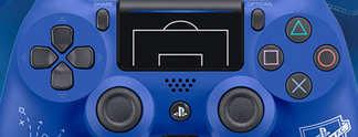PlayStation 4: Neuer Dualshock-Controller mit Fußball-Motiv angekündigt