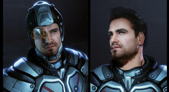 Der neue Held in Mass Effect 4? Bisher gibt es nur Grafikstudien zu sehen.