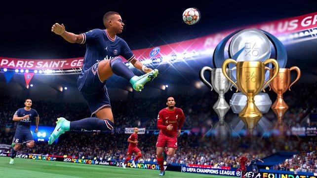 Trophäen und Erfolge gibt es in FIFA 22 in fast jedem Spielmodus.