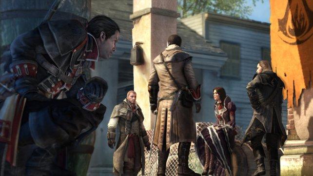 Shay schwört den Assassinen ab und ist künftig auf der Jagd nach seinen einstigen Kameraden.