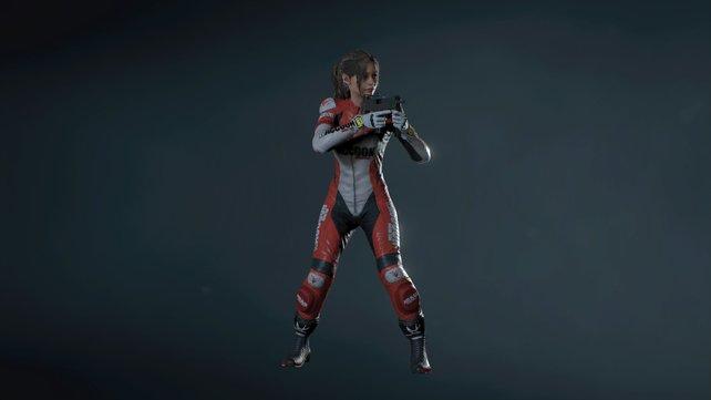 """Elza Walker ist als Heldin aus dem damaligen """"Resident Evil 2""""-Prototypen bekannt. Im Remake bekommt Claire ihr Kostüm spendiert."""