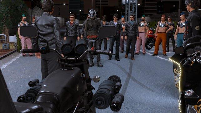 Ghost und seine Truppe gelten als die gefährlichsten Motorradgangmitglieder. Also nehmt euch vor ihnen in Acht!