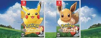 Let's Go, Pikachu! und Let's Go, Evoli! offiziell für Nintendo Switch angekündigt
